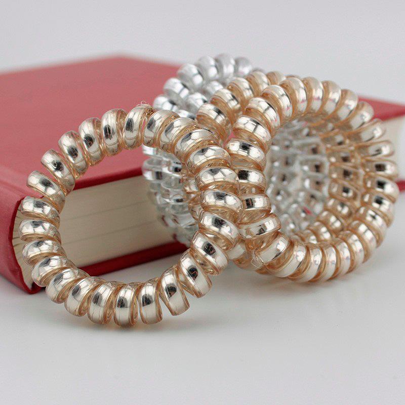 Резинка для волос «Silver & gold»