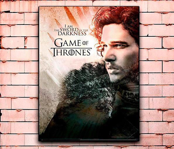 Постер «Игра престолов» большой