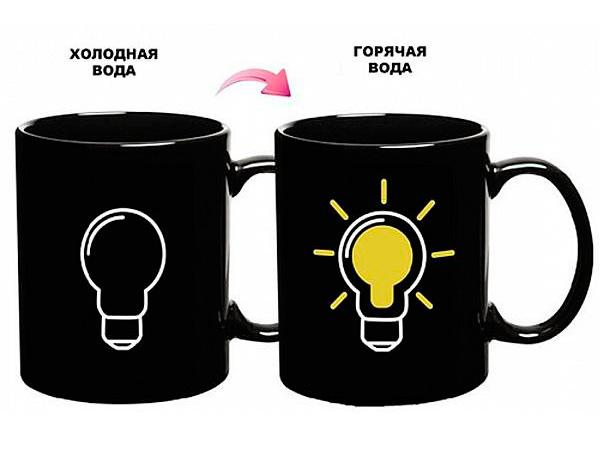 Кружка с терморисунком «Есть Идея!»
