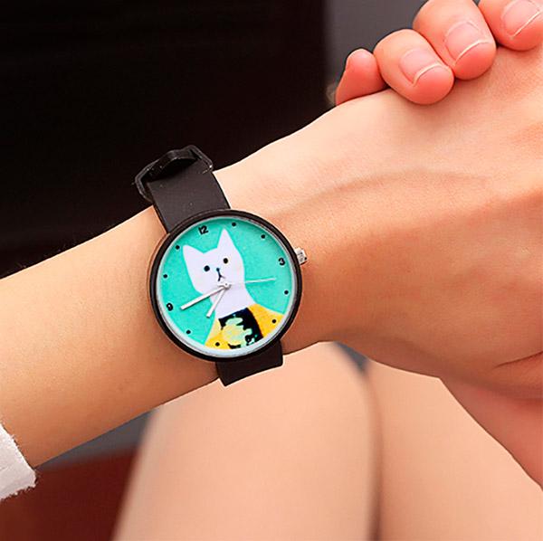 Наручные часы «Stylish cat»