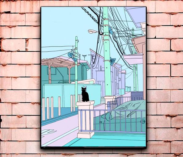 Постер «Котики» большой