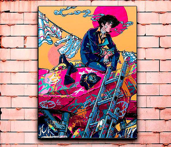 Постер «Ковбой Бибоп» средний