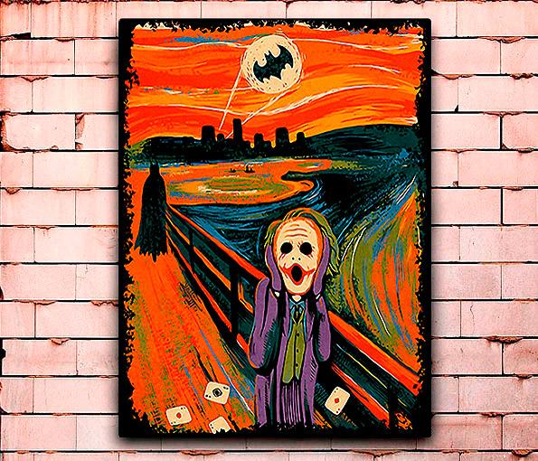 Постер «Крик Джокера» средний