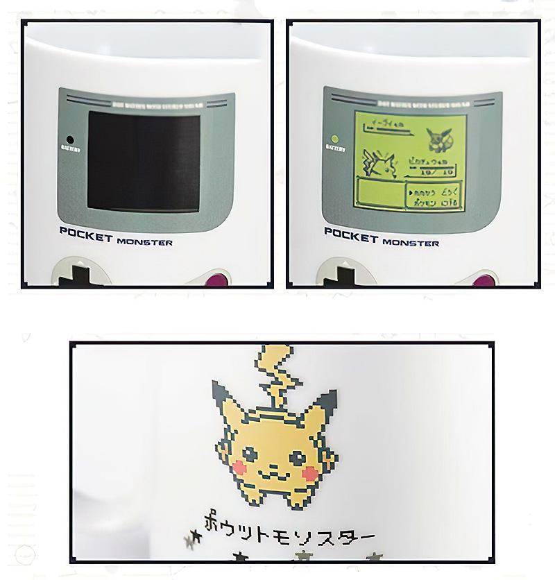 Кружка с терморисунком «Pokemon game»