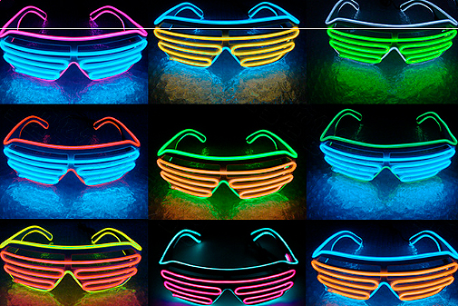 LED очки