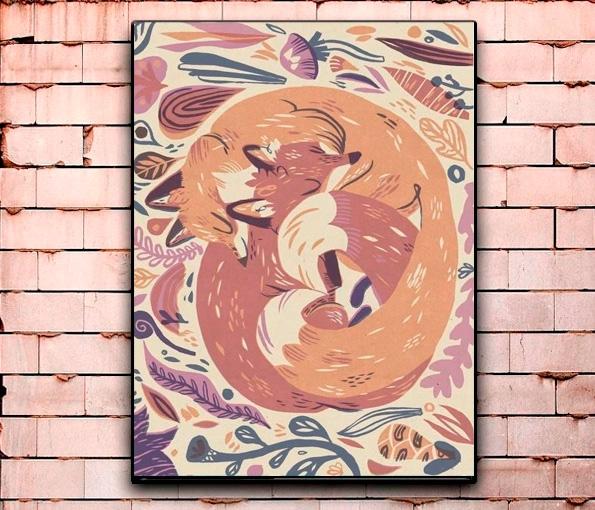 Постер «Animals» большой