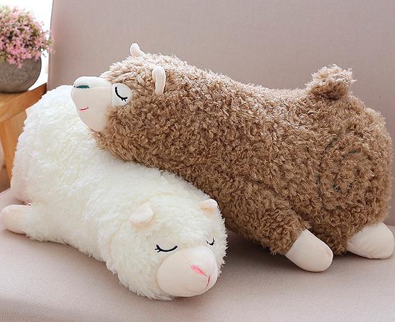 Мягкая игрушка «Спящая лама»
