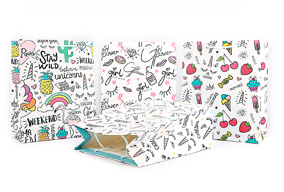 Подарочный пакет «Little things» маленький