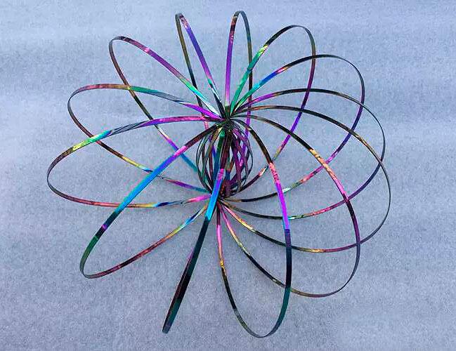 Интерактивная игрушка Magic Ring, разноцветная