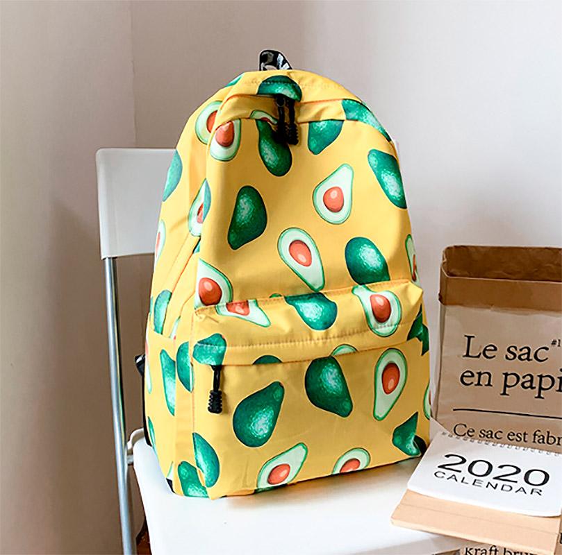 Рюкзак «Friendly avocado»