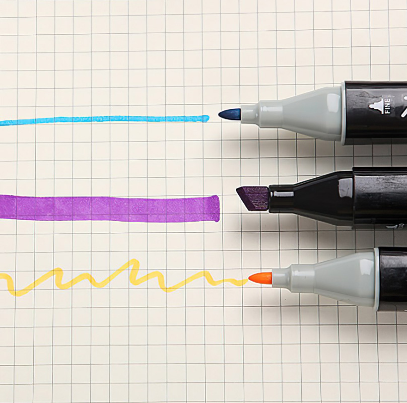 Набор двусторонних маркеров «Colorful day»