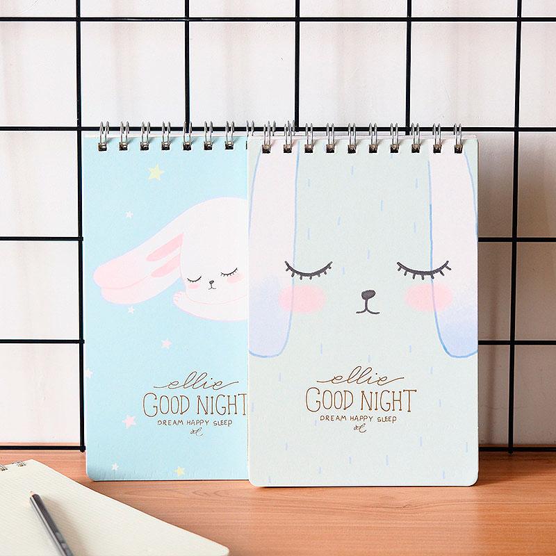 Блокнот в клеточку «Good night, rabbit»