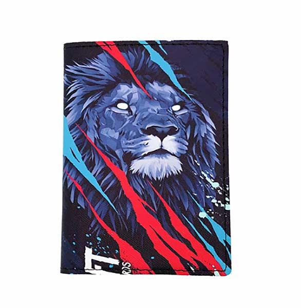 Обложка на паспорт «Leo»