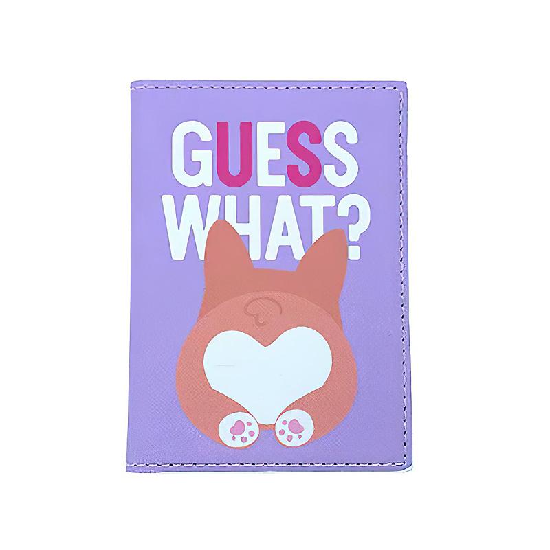 Обложка на паспорт «Guess what?»