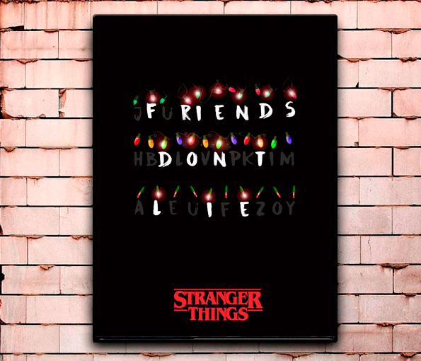 Постер «Stranger Things» большой