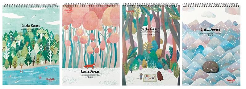 Скетчбук «Little forest»
