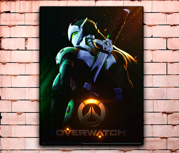 Постер «Overwatch» средний
