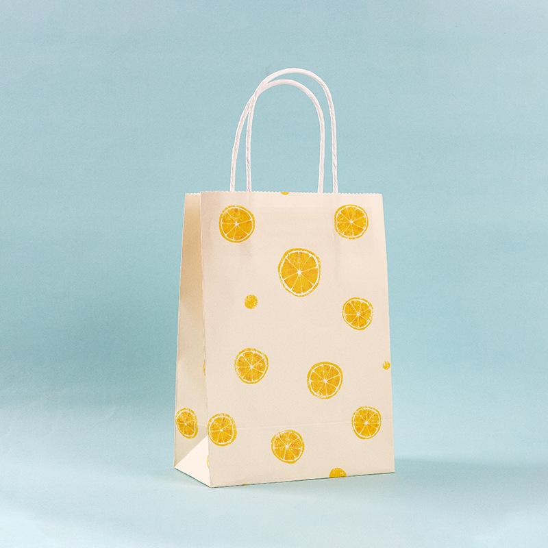 Подарочный пакет «Limon» маленький