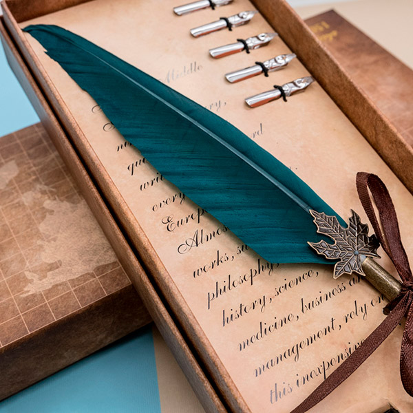 Подарочный набор с перьевой ручкой «Plumelet»