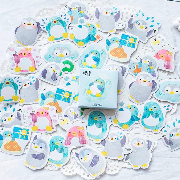 Набор наклеек «Пингвинята»