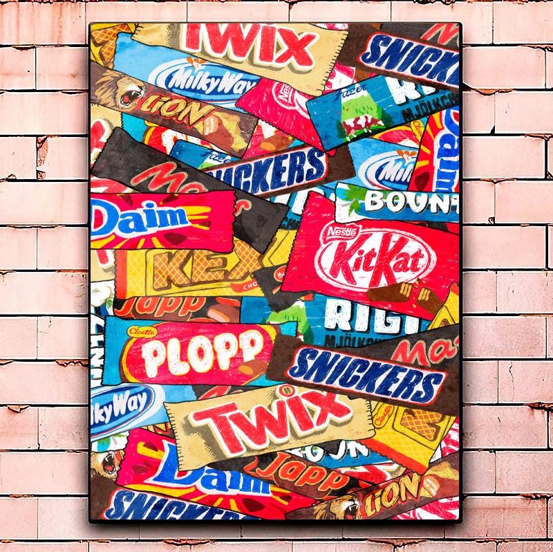 Постер «Chocolate bar» большой