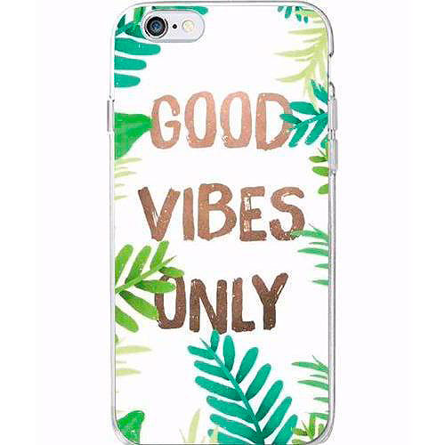 Чехол для iPhone «Good vibes only»