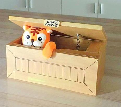 Коробка «Don't touch box»