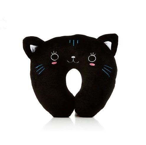 Подушка под шею «Черный Кот»