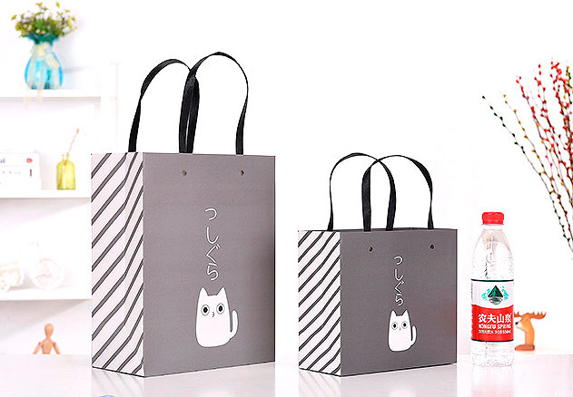 Подарочный пакет «One cat» большой