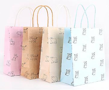 Подарочный пакет «Animal» средний