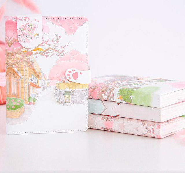 Блокнот «Цветение сакуры»