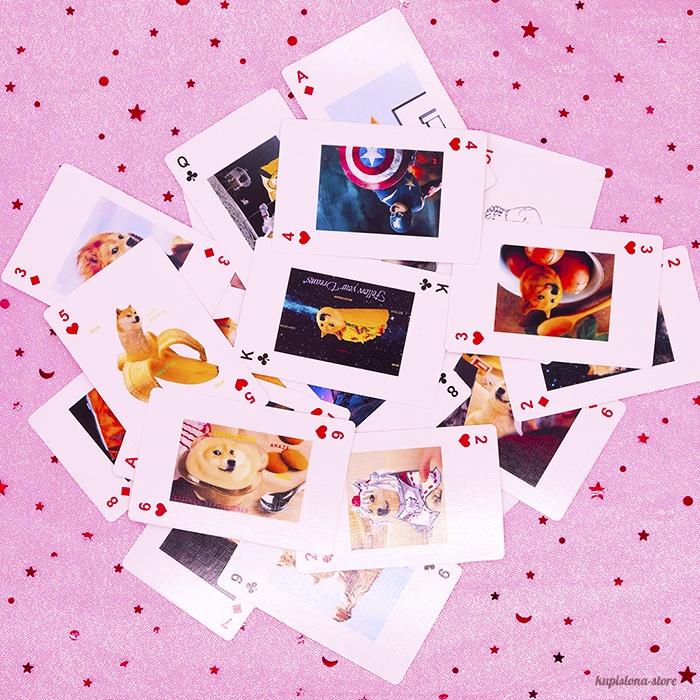 Игральные карты «Doge meme»