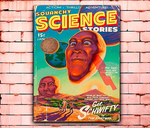 Постер «Science» средний