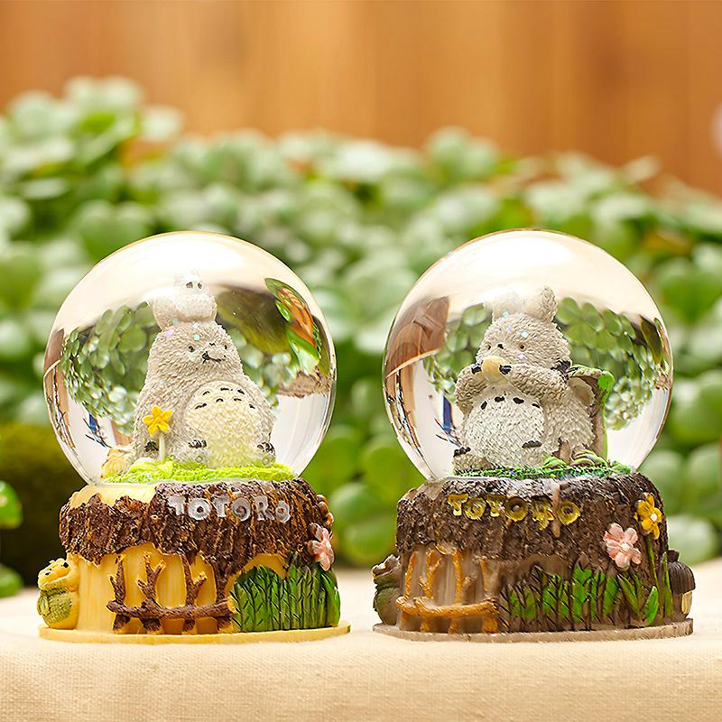 Стеклянный шар «My Totoro»