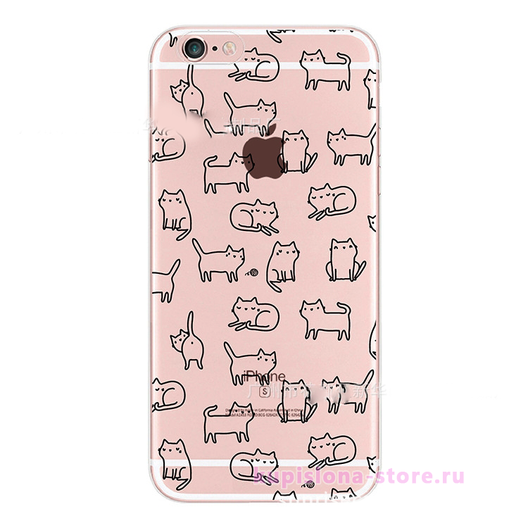 Чехол для iPhone «Kittens»