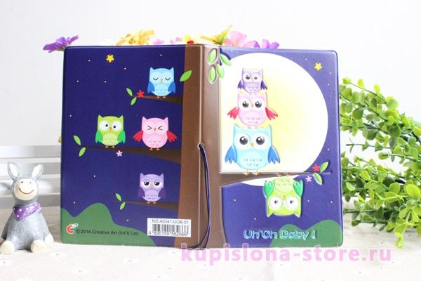 Обложка на паспорт «Owl»