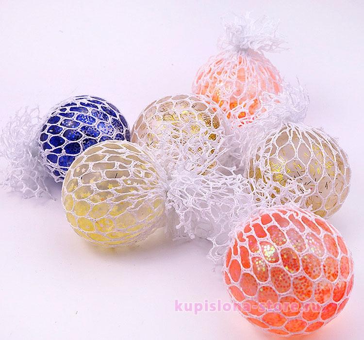 Мячик-антистресс «Sparkling»