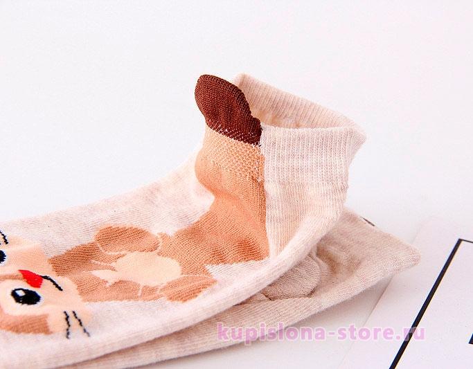 Носочки «Хвостик»