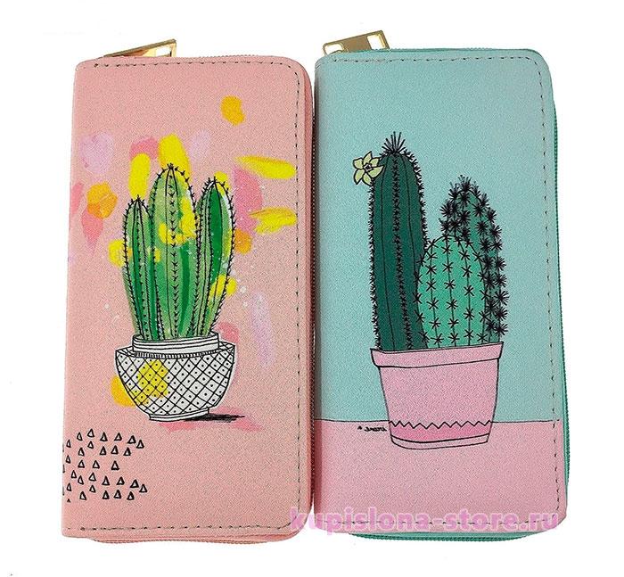 Кошелек «Cactus world»