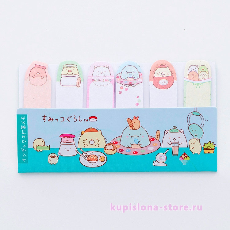 Стикеры «Sumikko Gurashi»