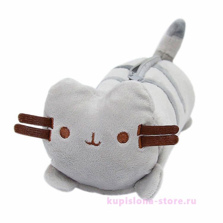 Плюшевый пенал «Полосатый кот»