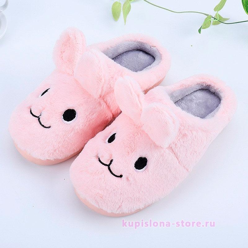 Тапочки «Плюшевый зайка»