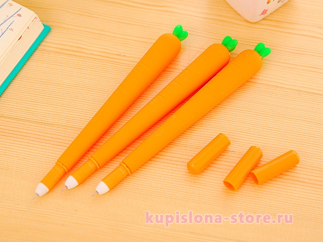 Ручка «Морковка», пластик