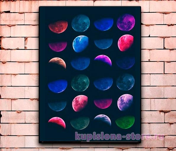 Постер «Солнечная система» большой