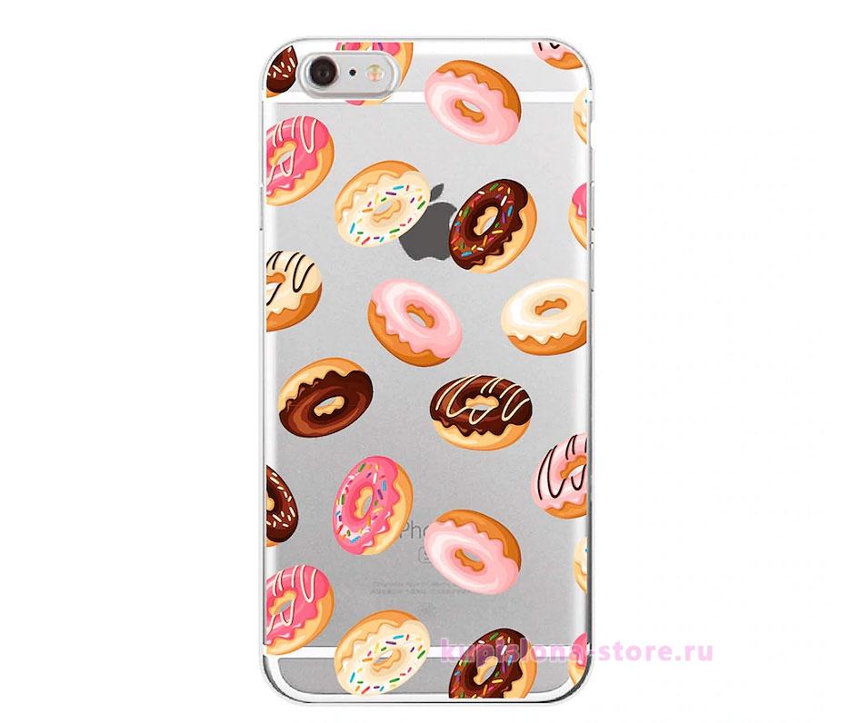 Чехол для iPhone «Пончик»