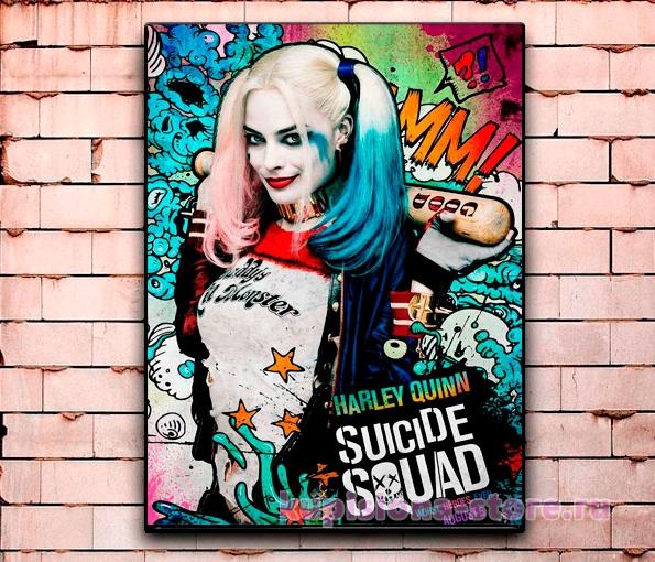 Постер «Антигерои DC» большой