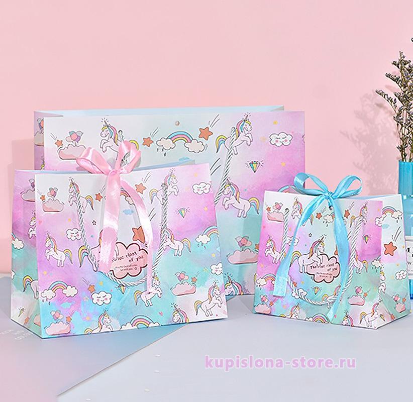 Подарочный пакет «The iuc riest of you» большой