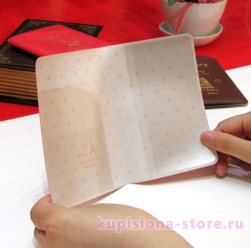 Обложка на паспорт «Have a nice trip»