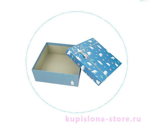 Подарочная коробка «Северный мишка» большая