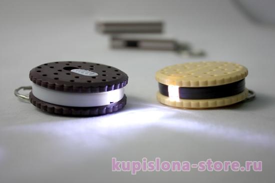 Брелок-фонарик «Печенька»